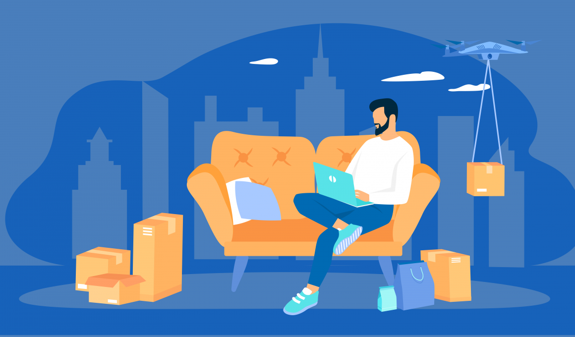 Manage you eCommerce deliveries while working from home