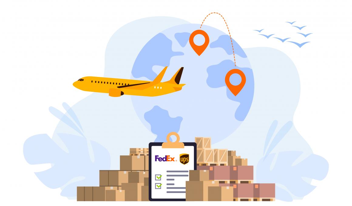 Shipping zones